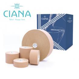CIANAキネシオロジーテープ/撥水性かつ通気に優れる純日本製テープ 5.0cmx5mx6巻入り他0